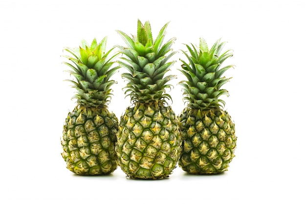 Изолированный от ананаса