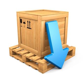 Деревянная коробка скачать концепцию
