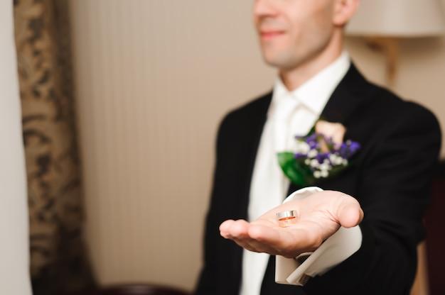 Свадебные детали - обручальные кольца как символ