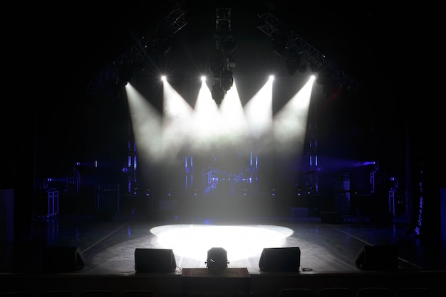 ライト付きのフリーステージ