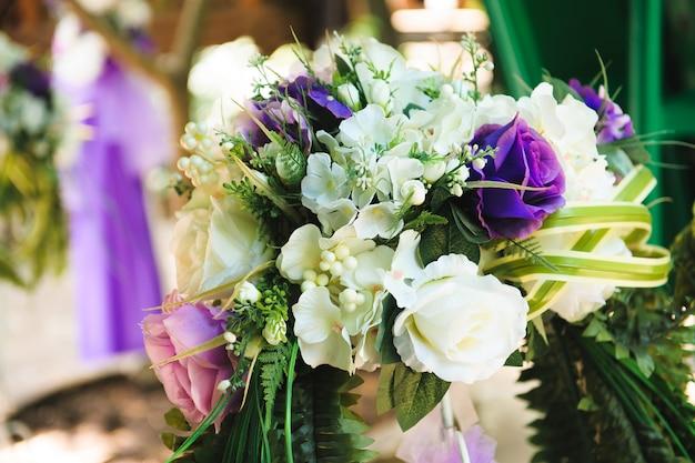 結婚式の装飾、美しい結婚式の装飾、花