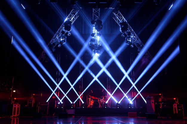 ライト付きフリーステージ