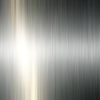 ブラシをかけられた金属の背景