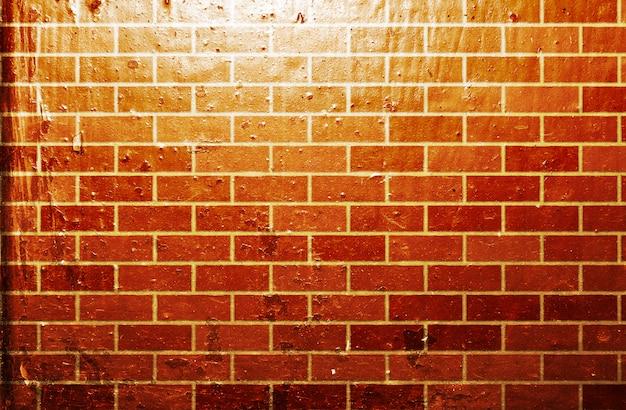 グランジレンガ壁の背景