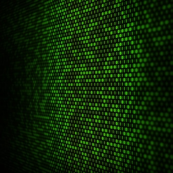 抽象的なバイナリコードの背景