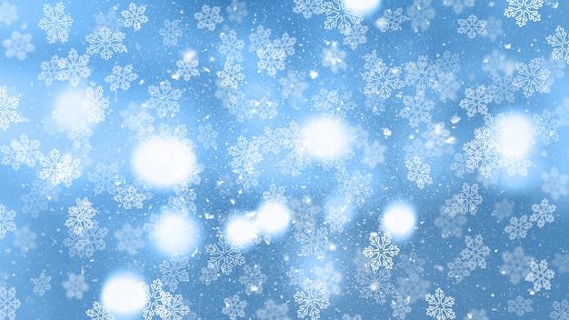 クリスマス雪
