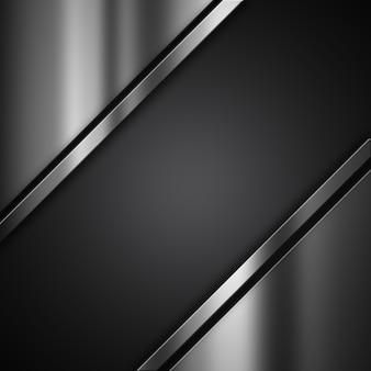 金属の質感を持つ抽象的なグランジの背景