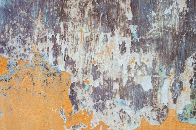 Текстура стены краска старая, слой, отшелушивание, отслаивание, винтаж, заброшенный текстурированный