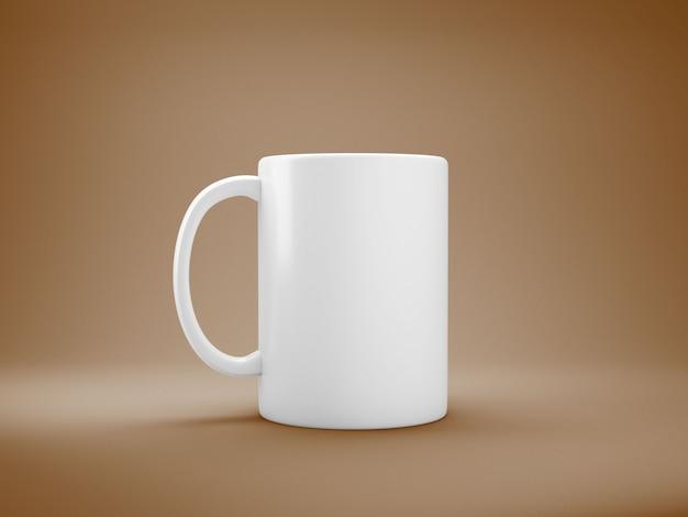 白いコーヒーマグ