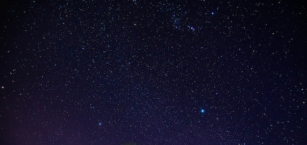 夜の星の背景