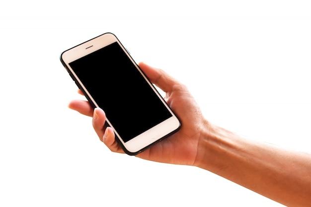 Рука мобильный смартфон или телефон