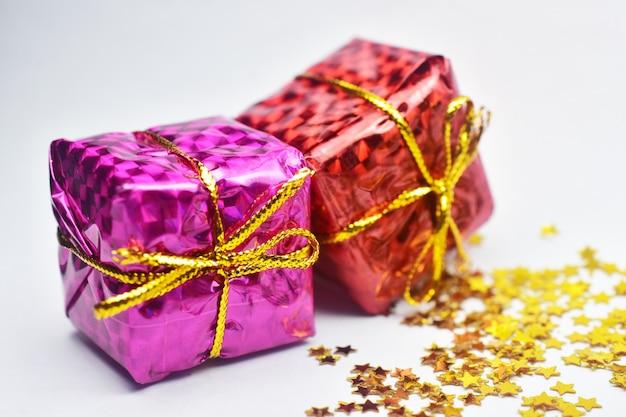 Подарочная коробка с рождеством