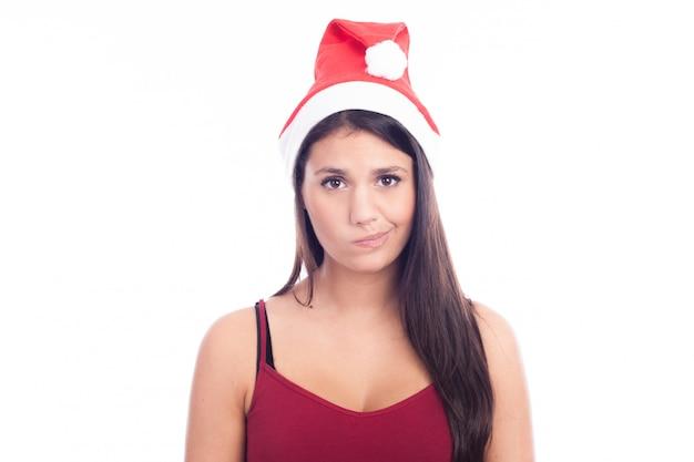 かわいいクリスマスの女の子