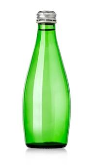 Стеклянная бутылка газированной воды