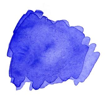 水彩ブラシストローク。