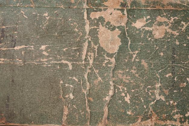 古い紙の緑のテクスチャ背景