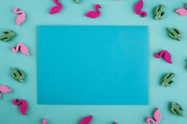 ミントの青い封筒