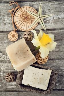 Спа-набор с мылом ручной работы