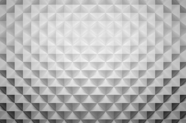 三角形の幾何学的形状を繰り返して、ピラミッドで表面の平面図。