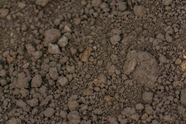 Закройте вверх предпосылки почвы.