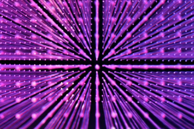 Фиолетовые круглые блестки