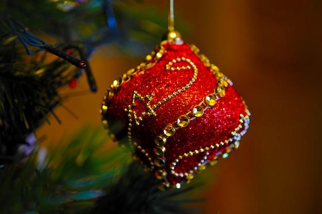 クリスマスツリーのおもちゃ