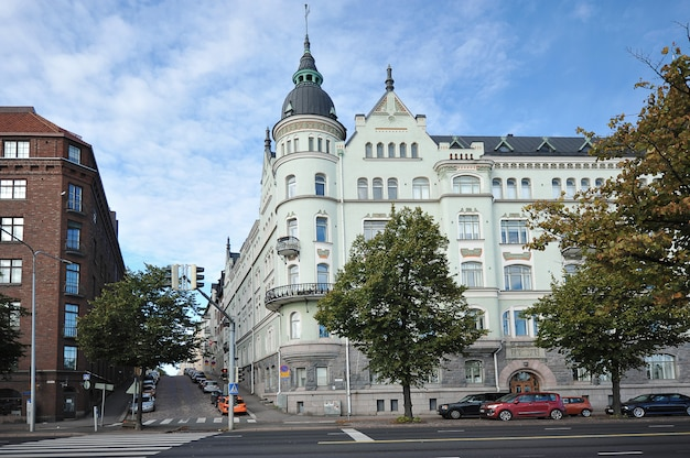ヘルシンキの古い建物