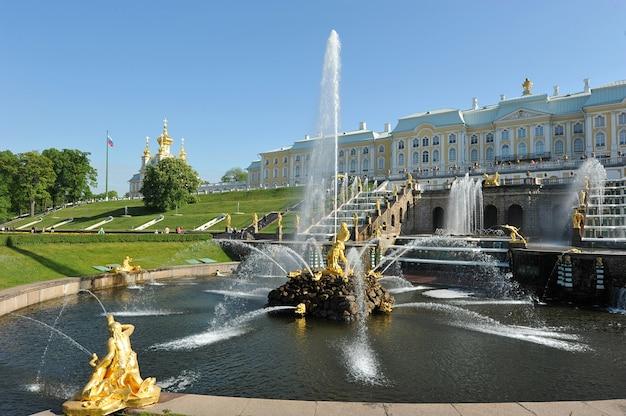 ペテルゴフの噴水