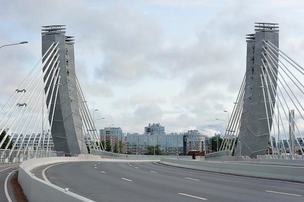 Вантовый мост бетанкур в санкт-петербурге