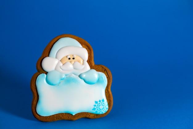 サンタのジンジャーブレッドクッキー