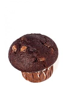 焼きたてのチョコレートのマフィン