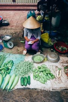 ベトナムの食品市場