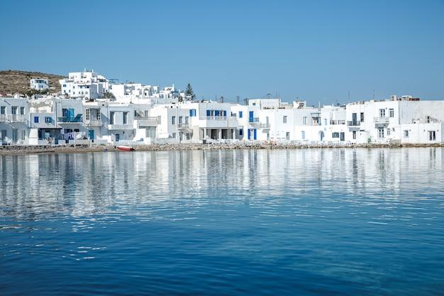 ナウサ村、パロス島、ギリシャ
