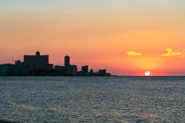 ラ・ハバナの夕日