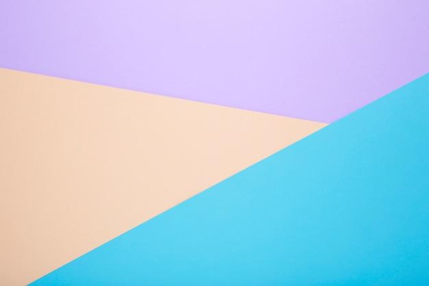 異なる色の紙から多色の背景