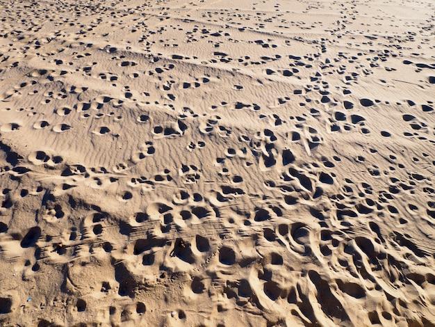 Текстура песка пляжа