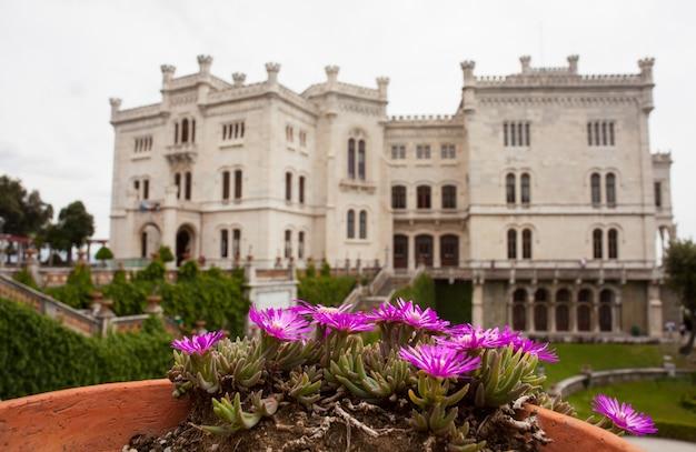 ミラマーレ城、トリエステ、イタリア