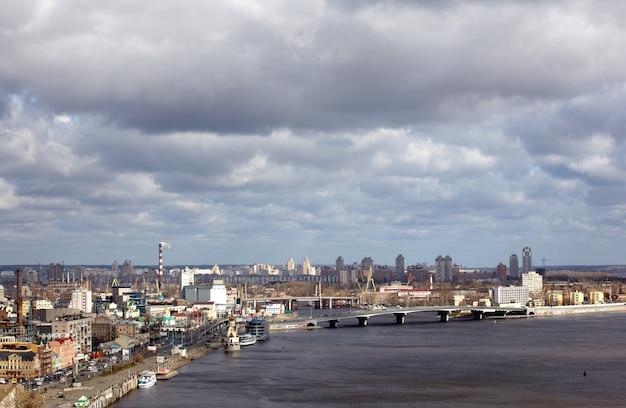ドニエプル川、キエフ