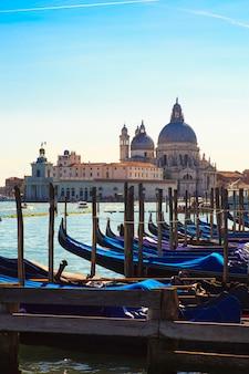Гондолы, венеция