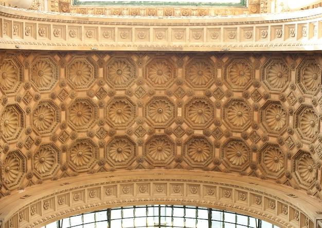 天井、中央駅、ミラノ