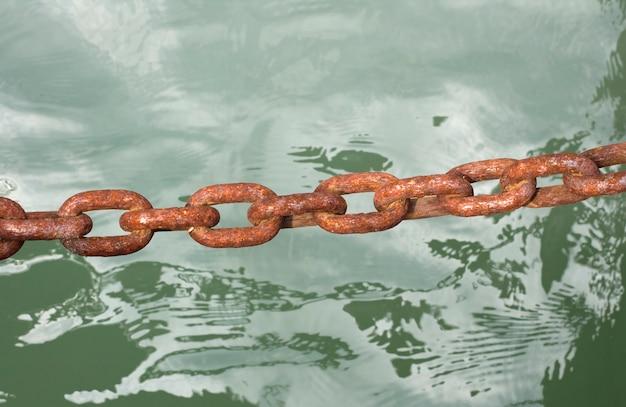 海の上の鎖