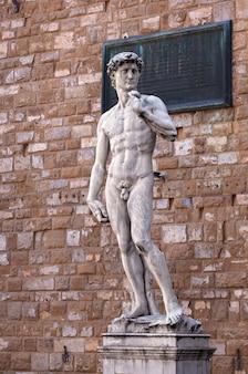 ミケランジェロのダビデ、フィレンツェ