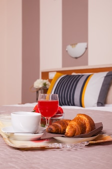 アレスホテルの寝室