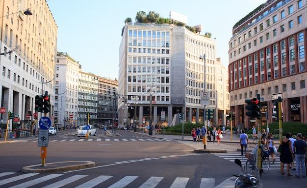 ミラノの聖バビラ広場