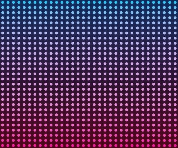 Рендеринг светодиодный розовый синий градиент света на черном фоне