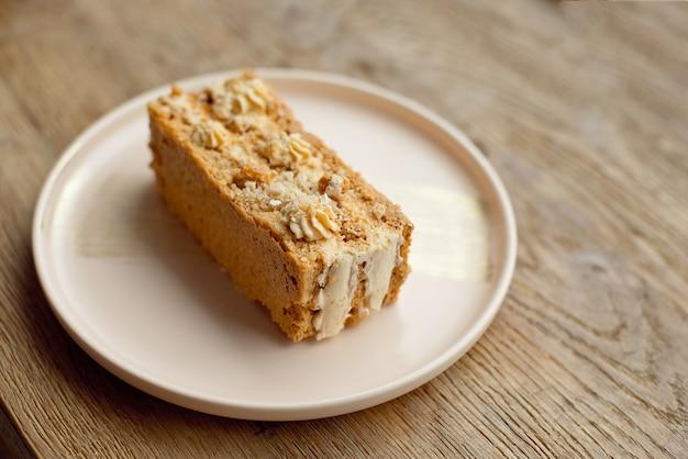 健康的な自家製キャロットケーキ