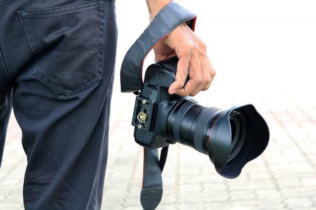 写真の概念プロの写真家。