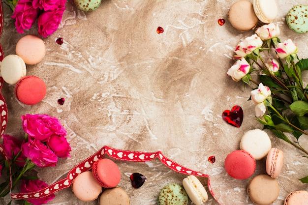 バレンタインの日の要素