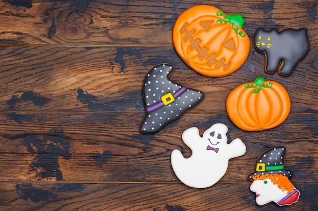 ハロウィーンパーティーのクッキー