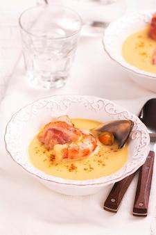 おいしいクリームチャウダースープ